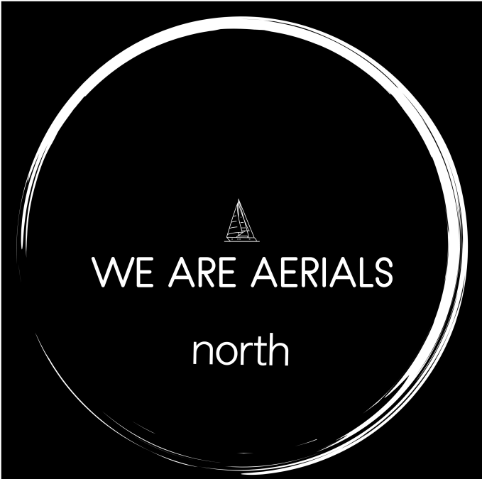 north Color logo with background